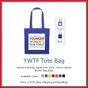 YWTF Canvas Tote Bag