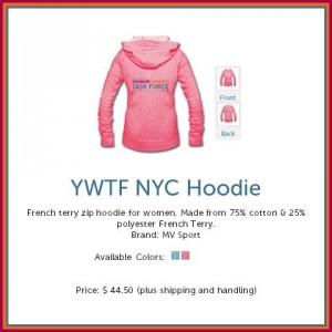 YWTF NYC Zip Hoodie