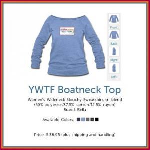 YWTF Boat Neck Top