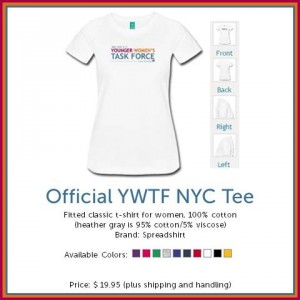 Official YWTF NYC Tee